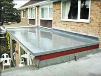 GRP Roof on Extension